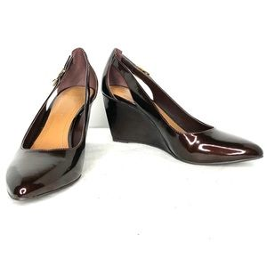 NWOT BCBGeneration Wedge Pumps / Chocolate Brown